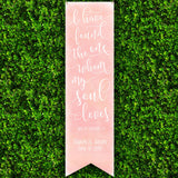 Wedding Song Backdrop - Wedding Decor Gifts