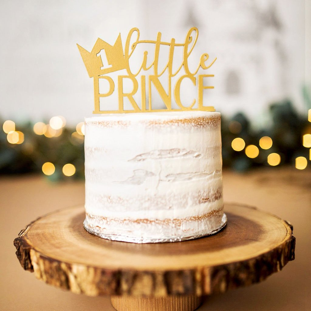 Little Prince Cake Topper - Wedding Decor Gifts