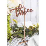 Tall Standing Table Numbers - Wedding Decor Gifts