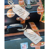 Mr & Mrs Engraved Wooden Luggage Tags - Wedding Decor Gifts