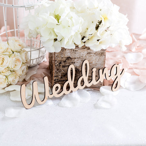 """Wedding"" Sign - Wedding Decor Gifts"