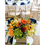 Table Numbers on Sticks - Wedding Decor Gifts