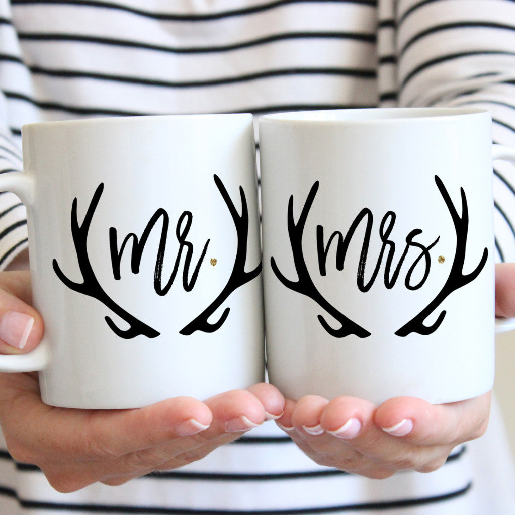 Wedding Gift Mr & Mrs Mugs - Wedding Decor Gifts