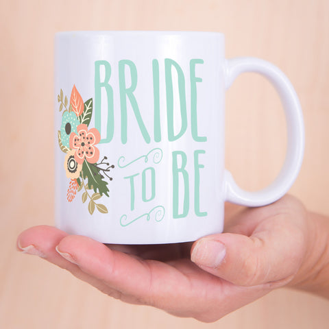 Wedding Bride to Be Mug - Wedding Decor Gifts