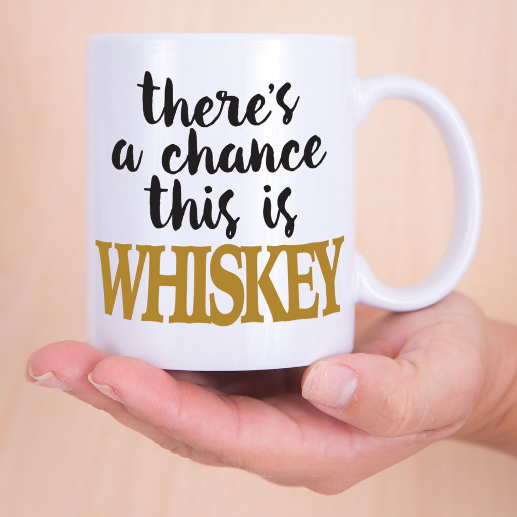 Whiskey Coffee Mug - Wedding Decor Gifts