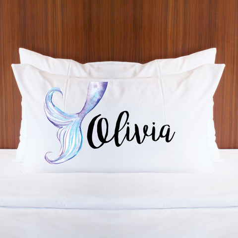 Personalized Mermaid Pillowcase - Wedding Decor Gifts