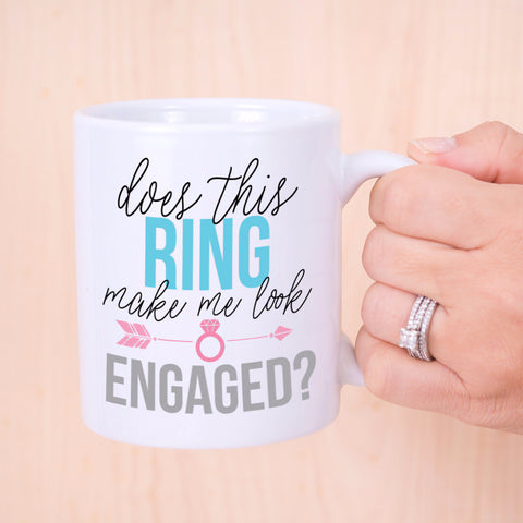 Engaged Mug - Wedding Decor Gifts