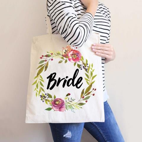 Moody Floral Wedding Bags - Wedding Decor Gifts