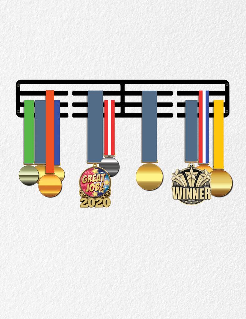 Medal Holder for Wall, Sports or Marathon Medal Award Holder, Runner Gift Sport Gift for Teens Women Men, Athlete Medal Holders