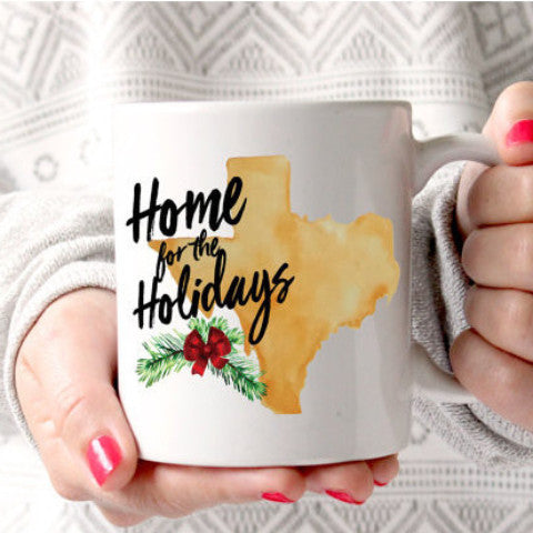 Home State Gift for Christmas Mug - Wedding and Gifts