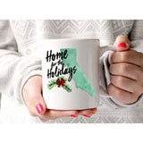Home State Gift for Christmas Mug - Wedding Decor Gifts
