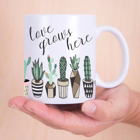 Cactus Coffee Mug - Wedding Decor Gifts