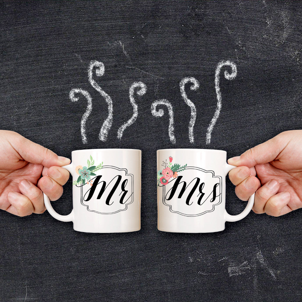 Mr & Mrs Mugs - Wedding Decor Gifts