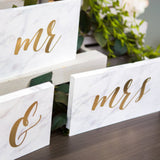 Mr & Mrs Signs for Wedding - Wedding Decor Gifts