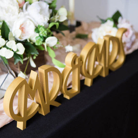 Art Deco Vintage Mr & Mrs - Wedding Decor Gifts