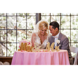 Mr & Mrs Wedding Table Signs - Wedding Decor Gifts