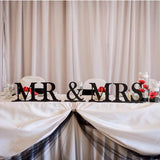 Mr and Mrs Sign for Wedding