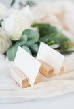Wooden Place Card Holders - Wedding Decor Gifts