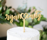 Wedding Cake Topper Names - Wedding Decor Gifts