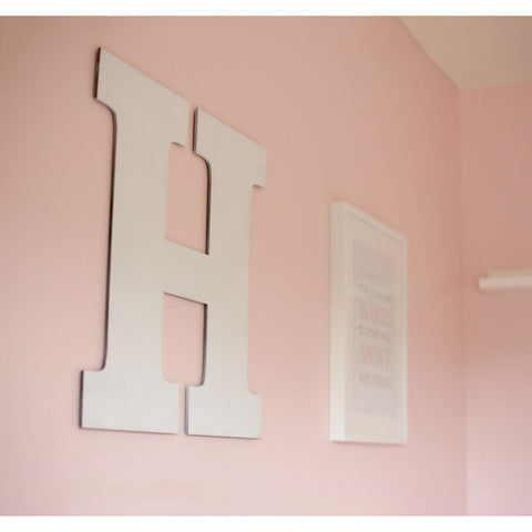 Large Wooden Letter for Nursery or Kids Bedroom - Wedding Decor Gifts