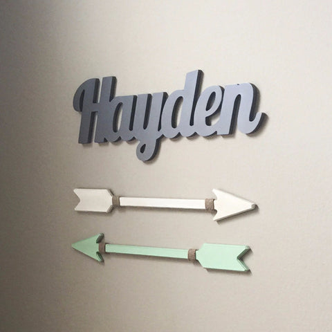 Name Sign for Children Nursery Bedroom - Wedding Decor Gifts