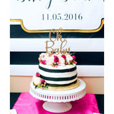 Baby Shower Cake Topper - Wedding Decor Gifts