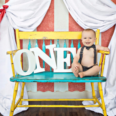 ONE Sign for First Birthday Decor