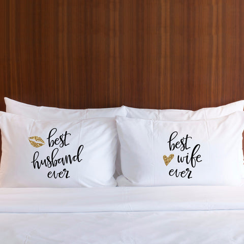 Best Ever Pillowcases - Wedding Decor Gifts