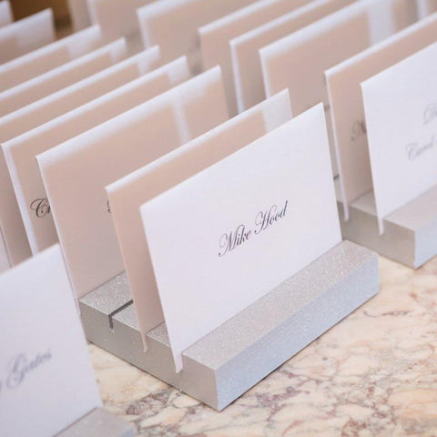 Place Card Holders for Wedding & Event Escort Card Display Cards
