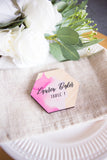 Watercolor Calligraphy Place Cards - Wedding Decor Gifts