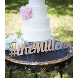 cake table sign, custom name sign, personalized sign