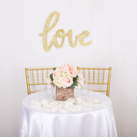 Love Sign for Wedding Decor - Wedding Decor Gifts