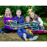 Merry Christmas Sign & Photo Prop