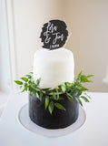Paint Style Wedding Cake Topper - Wedding Decor Gifts