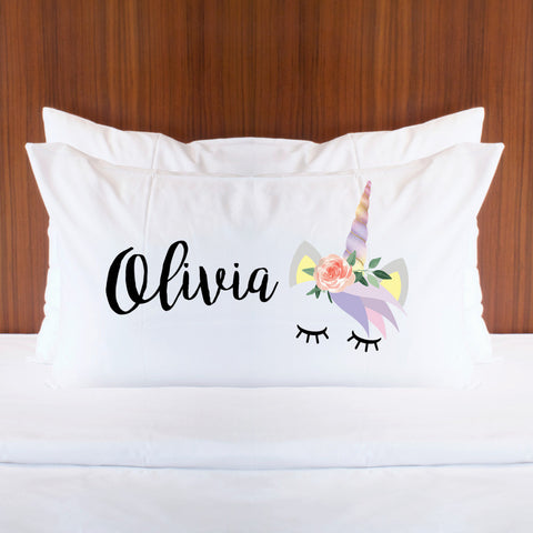 Personalized Unicorn Pillowcase - Wedding Decor Gifts