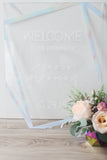Prismatic Wedding Welcome Sign - Wedding Decor Gifts