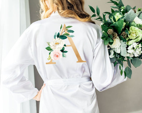 Personalized Bridal Party Robes - Wedding Decor Gifts