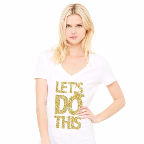 Let's Do This Wedding Shirt - Wedding Decor Gifts