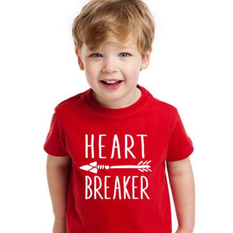 Heart Breaker Kids' Shirt - Wedding Decor Gifts