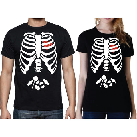 Men or Women's Halloween Shirt - Wedding Decor Gifts