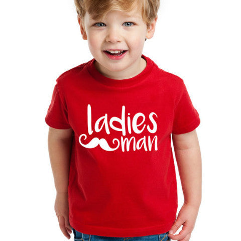 """Ladies Man"" Valentine's Day Shirt - Wedding Decor Gifts"