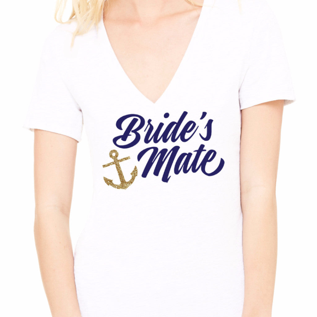 "Nautical ""Bride's Mate"" Shirt - Wedding Decor Gifts"