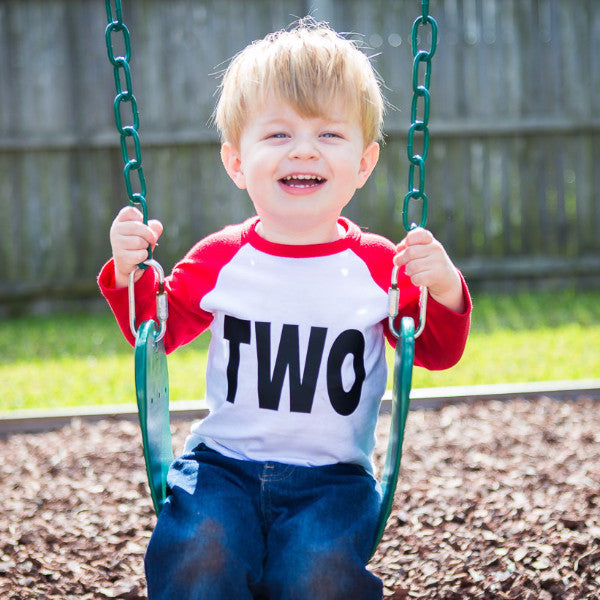 """Two"" Shirt for Toddler Birthday - Wedding Decor Gifts"