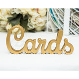 Cards Sign for Wedding Table - Wedding Decor Gifts