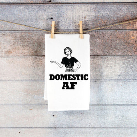 Funny Kitchen Towel for Housewife Christmas Decor - Wedding and Gifts