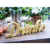"""Drinks"" Table, Bar Sign - Wedding Decor Gifts"
