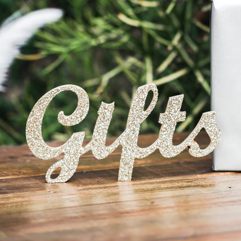 Gifts Table Sign - Wedding Decor Gifts