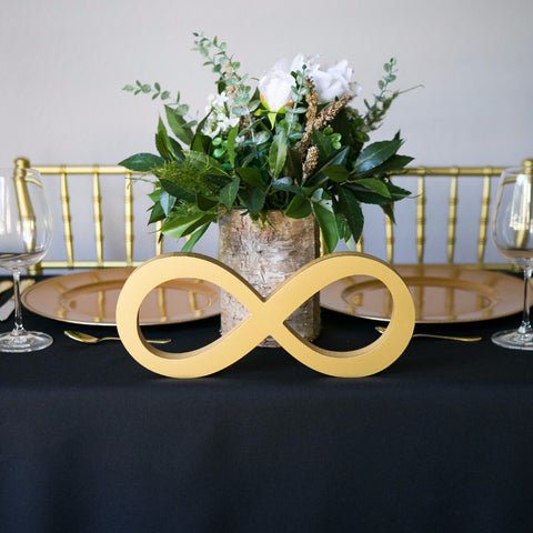 Infinity Table Sign for Wedding