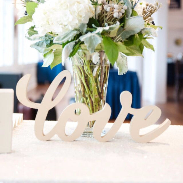 Love Sign for Table - Wedding Decor Gifts