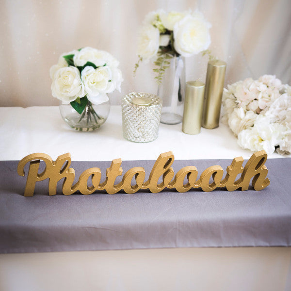 "Wedding ""Photobooth"" Sign - Wedding Decor Gifts"